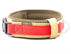 3 cm breit - Premium Halsband uni