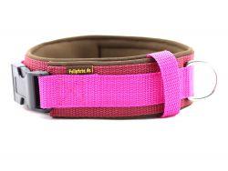 2,5 cm breit - Premium Halsband uni