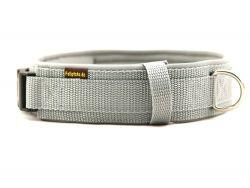 5 cm breit - Premium Halsband uni
