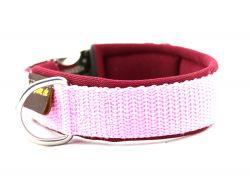 2,5 cm breit - Classic Halsband uni