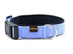 3 cm breit - Classic Halsband uni