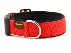 4 cm breit - Classic Halsband uni